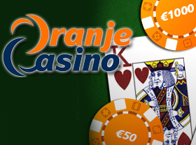 Oranje Casino welkom
